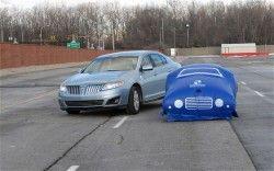 Форд начал применять невесомые шары, чтобы исследовать технологию предостережения столкновений