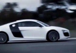 Видео новой Ауди R8 V10
