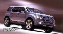Форд Эксплорер 2011 – первые картинки