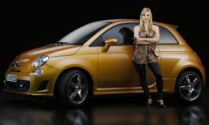 Rinspeed представит в Женеве зеленую версию Фиат 500 Абарт