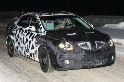 Свежий Buick на зимних тестах