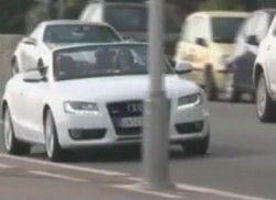 Автомобиль с откидным верхом Ауди A5