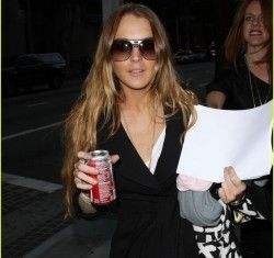 Lindsay Lohan попала в трагедию на собственной Мазерати