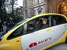 Юлия Тимошенко расценил свежий авто и технологии от Мицубиси Моторс. Фото