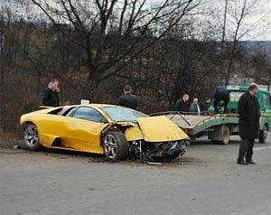 Зачинщик ДТП заплатит 340 грн за Ламборгини Каладзе!