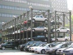 В городе Москва будут не менее 200 отвесных автомобильных парковок