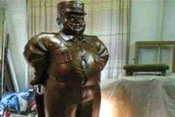 Монумент сотруднику ДПС «лишился» головы