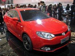 В Шанхае появился концепт MG6