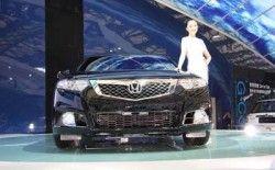 Dongfeng Хонда продемонстрировала SR-9 и Цивик Гибрид