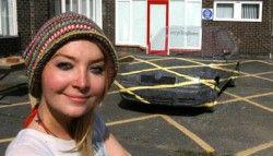 Английский дизайнер сделала невидимый авто