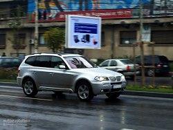 Первый опыт  БМВ X3 2010 рассчитан на январь