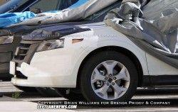 Свежие разведывательные фото Хонда Кросстур 2010
