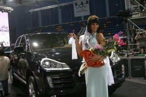 «Мисс Донбасс Open-2009» презентовали Porshe Кайен