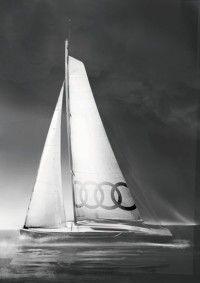 Ауди продемонстрировала яхту