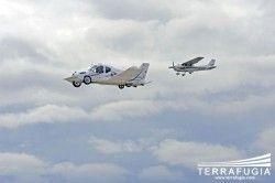 Первые проверки летательного авто