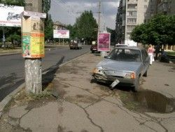 В Николаеве участник ДТП украл авто ГАИ