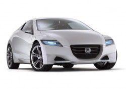 Концепт Хонда CR-Z основывается на смешанном спорт-каре