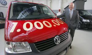 Фольксваген произвел миллиардный авто серии Т5