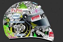Ник Хайдфельд избрал дизайн шлема из 9000 фанатских набросков
