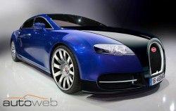 Детальнее о новой модель Bugatti