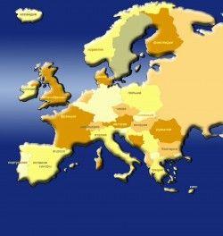 Реализации автомашин в Европе повысились в первый раз с 2008 года