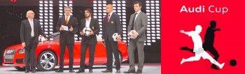 Ауди Cup соберет самые лучшие футбольные клубы мира