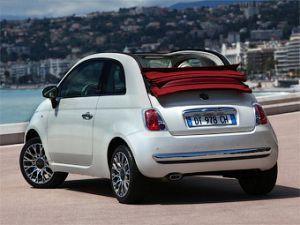 Автомобиль с откидным верхом Фиат 500 обретет заряженную версию
