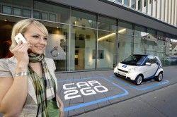 Даймлер развивает в Германии технологию проката car2go