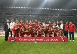 FC Bayern стал победителем Ауди Cup