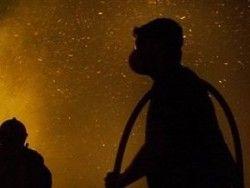 В Соломенском регионе Киева сгорела автомобильная стоянка