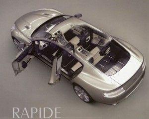 Астон Мартин Rapide 2010 – продемонстрировал дизайн