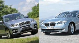 Организация БМВ официально продемонстрировала стоковые модификации 7-Series и X6