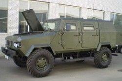 На Украине представят бронированную автомашину