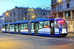 В Киеве представят еле слышный трамвай