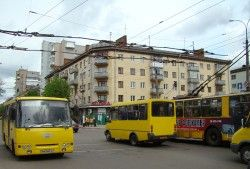 Загородные маршрутки Киева повысились в цене