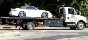 У Виктории Бэкхэм вышел из строя Порше 911 Турбо