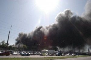 Пожар на АвтоЗАЗе ограничили