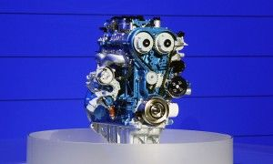 Форд продемонстрировал серию моторов EcoBoost
