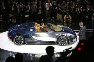 Bugatti Гран Sport Sang Bleu дошел до Франкфурта