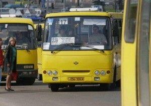 В общественных маршрутках Киева подорожал проезд