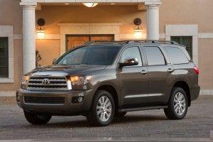 Тойота Секвойа получила 4.6-литровый V-8