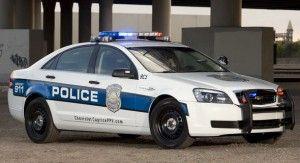 "General Motors сделал свежий ""полицейский"" Шевроле на основе Понтиак G8"