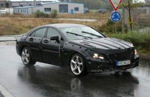 Закамуфлированный Мерседес CLS AMG 2011
