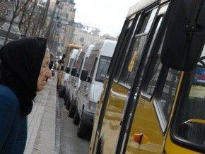 В Киеве загородные маршрутки вновь повысились в цене