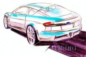 Возникли наброски купе Субару Спортс