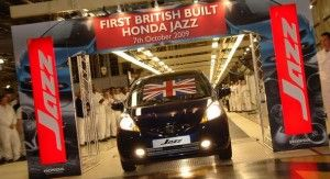 Honda Jazz начали собирать в Англии