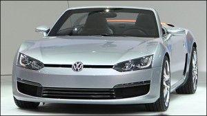 Porsche «скопирует» у VW модель Bluesport