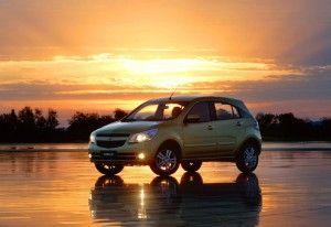 Фоторелиз Chevrolet Agile 2010