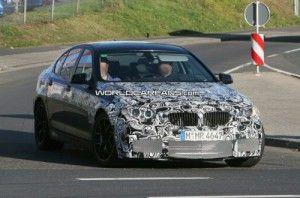BMW M5 (F10) на Nurburgring