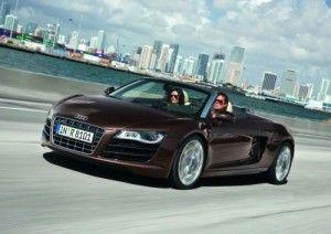 Audi R8 V10 Spyder будет представлена на открытии центра West London Audi